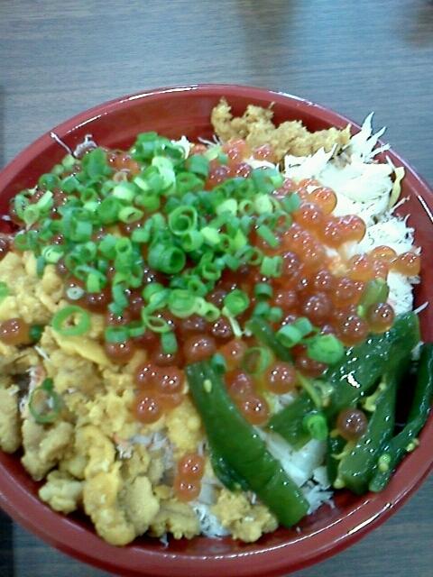 sashimi-rice